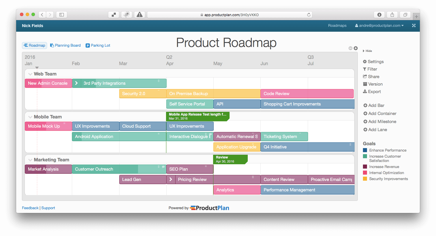 Product Development Roadmap Template Ukrandiffusion