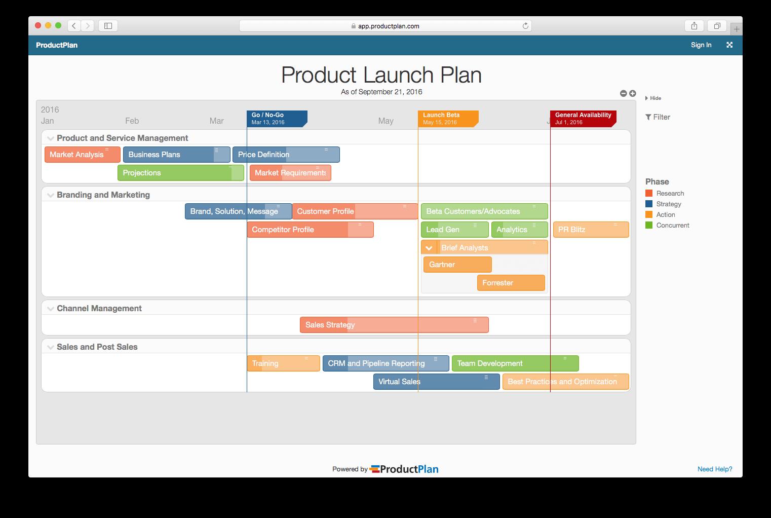 7ba3dcbdd0d Product Launch Plan Template