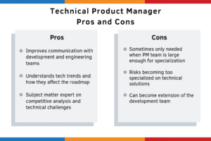 technical product manager pros and cons